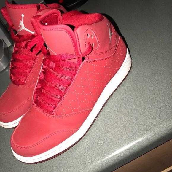 Jordan Shoes | High Top Red Jordans